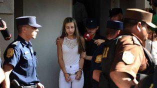 Galarza, saliendo ayer de Tribunales de Gualeguaychú, tras su larga declaración