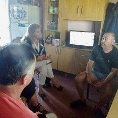 Desde el Gobierno provincial se pusieron a disposición de la familia de Fernando Pastorizzo