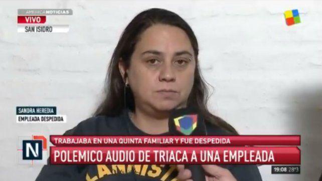 La empleada insultada por Triaca: Se enojó porque me retrasé