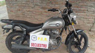 Recuperadas. En la tarde fueron ubicadas dos motocicletas que habían sido robadas un rato antes.