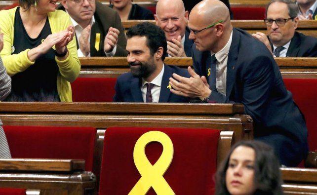 Independentistas ya imponen su mayoría en el Parlamento catalán