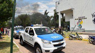 Atacaron con un fierro a un periodista de Santa Elena