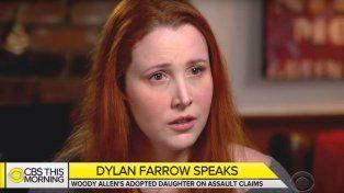 La hija de Woody Allen rompió el silencio: Mi padre tocó mis partes íntimas