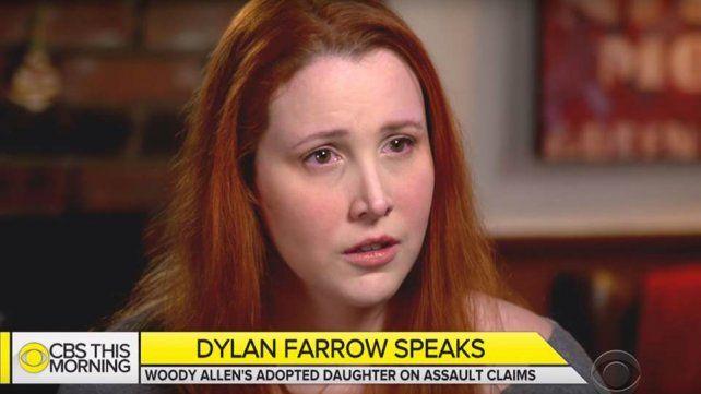 Dylan Farrow, sobre su padre, Woody Allen: Tocó mis partes íntimas