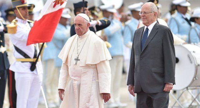 El Papa ya está en Perú tras su intensa visita a Chile