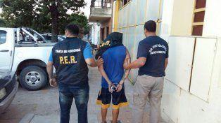 Detuvieron en la costa del Paraná al cuñado de Petaco Barrientos, que se encontraba prófugo