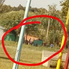 Ellos son. Los vecinos que se contactaron con UNO, aseguraron que el grupo que se observa es responsable.