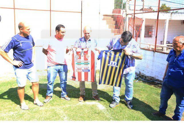 Visita internacional en Atlético Paraná