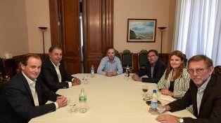 Agenda parlamentaria. El gobernador consensuó con Pichetto los temas de interés para las provincias.