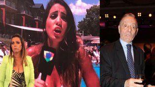 Fuerte cruce en vivo de Tristán y Cinthia Fernández por la denuncia de acosos
