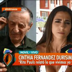 Cinthia Fernández cruzó en vivo a Tristán: No tengo más miedo, disfruto lo que le está pasando