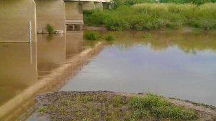 El arroyo en donde desapareció el joven. Foto Será Noticia.