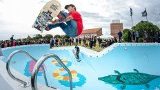 abrieron las puertas del mitico bowl de brusquitas para la comunidad skater