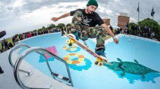 Abrieron las puertas del mítico bowl de Brusquitas para la comunidad skater