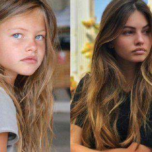 El antes y el después de la nena más linda del mundo