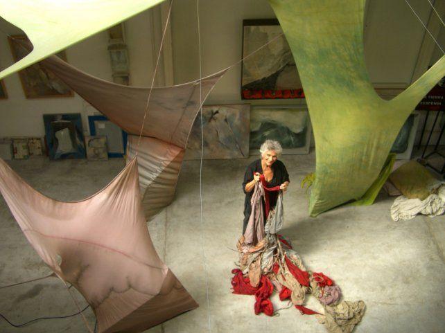 Autorizada. Las obras núbicas que Baglietto realiza desde hace 32 años tienen un neto corte social y están orientadas a provocar cambios.