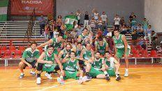 bancario, la sensacion del torneo provincial de basquet