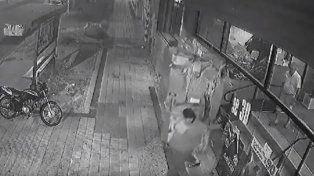 Captura de pantalla del video de seguridad. Fuente: Internet.