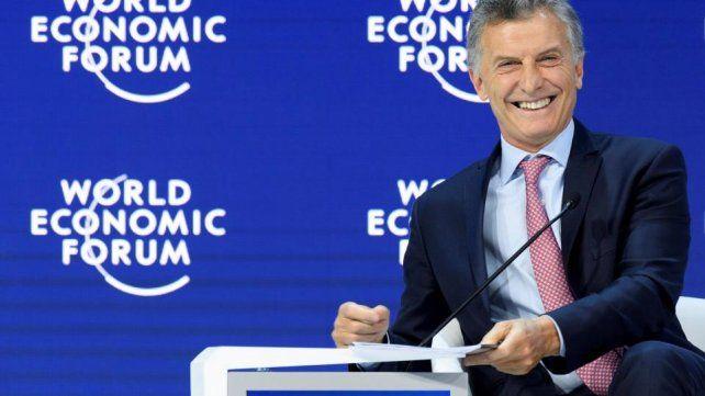 La explicación de Macri en Davos que hizo estallar las redes