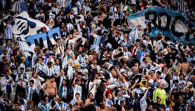 Argentina, el tercer país que más entradas pidió para Rusia 2018