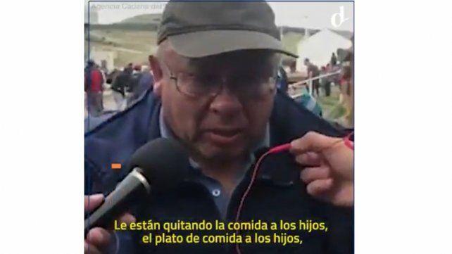 Desgarrador testimonio de un despedido de Río Turbio