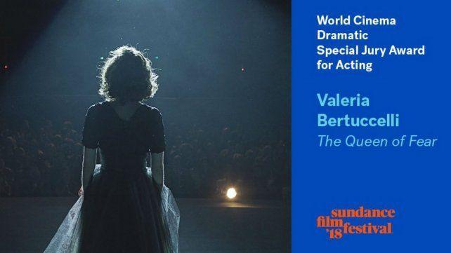 Valeria Bertuccelli ganó como mejor actriz en el festival de Sundance
