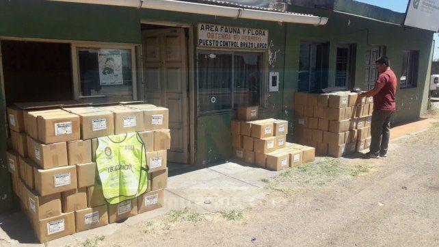 Departamento Islas: Decomisaron 6.000 kilos de pollos