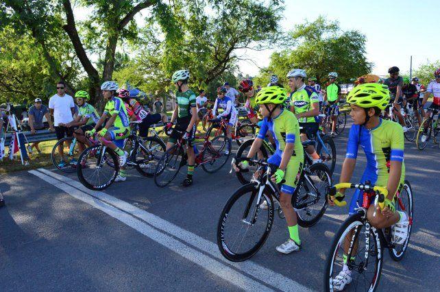 Se corrió la segunda jornada del Ciclismo Rutero del Litoral