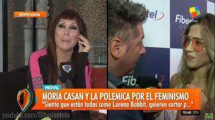 Moria Casán atacó a Jimena Barón: Lesbiana tapada que se asume y atrasa; es un varoncito