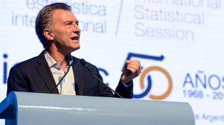 Macri en los 50 años del Indec: Pasamos de la oscuridad a la transparencia