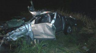 Accidente fatal en María Grande: Paranaense falleció al volcar su camioneta