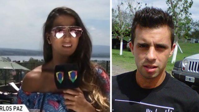 Cinthia Fernández tuvo que abandonar un móvil por un ataque de angustia