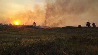 Bomberos concordienses trabajaron más de cinco horas para controlar un incendio