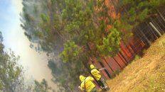 bomberos concordienses trabajaron mas de cinco horas para controlar un incendio