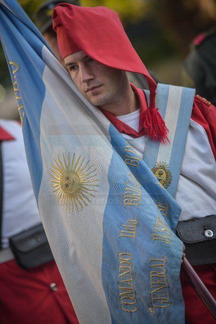 Se realizaron en Paraná los actos conmemorativos por la Batalla de Caseros y el Combate de San Lorenzo