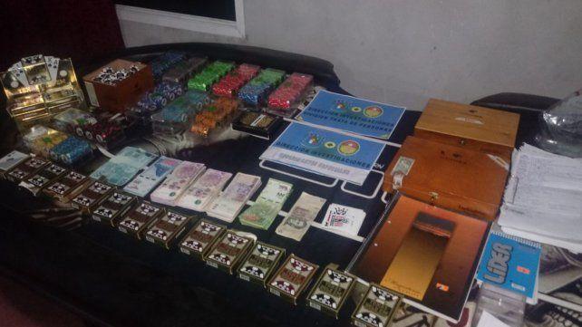 Allanaron un casino clandestino en Strobel: Hay un detenido