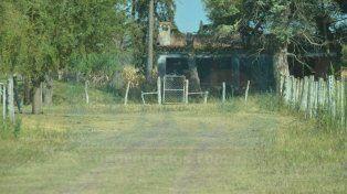 Abandonada. La casa dónde vivieron los Gill