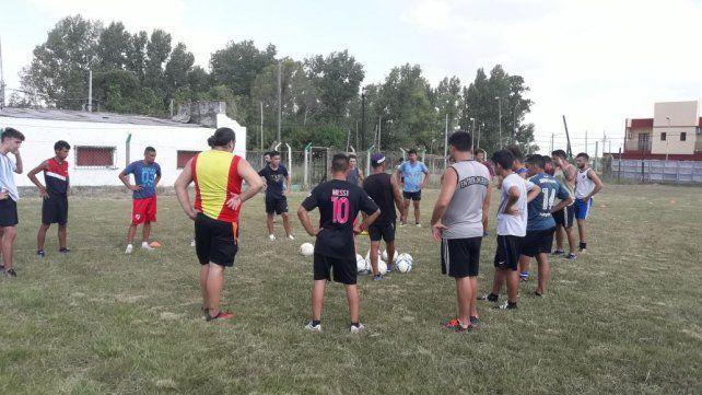 Sportivo Entre Ríos arrancó la pretemporada pensando en el ascenso