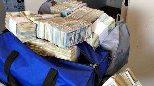 Secuestro. En los allanamientos encontraron varios miles de dólares.