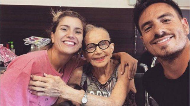 Fede Bal se despidió de su abuela con una promesa