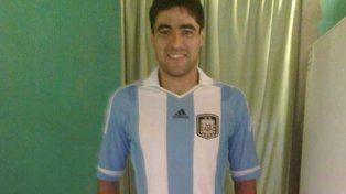 Diego Armando Pesoa vuelve a vestir la camiseta de la Selección Nacional de amputados