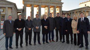 Potencial entrerriano. La delegación de la provincia dialogó con empresarios alemanes.