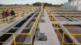 En los centros. Afirmaron que desde las plantas el agua cumple con las condiciones de potabilidad.