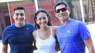 La familia que volvió a La Paz y corrió el Tria