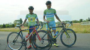 Rubattino y Sanabria toman la ruta que los lleva a competir en San Luis