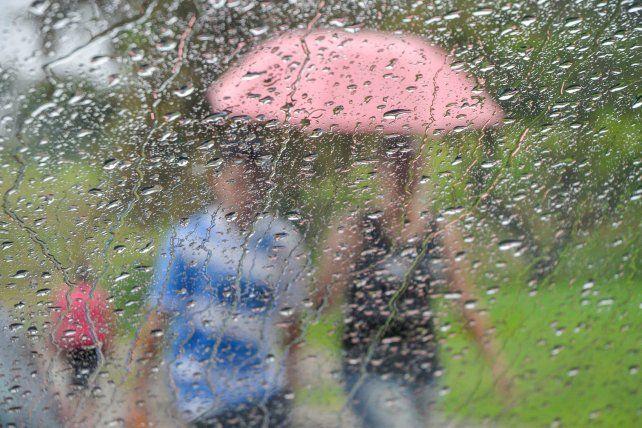 Cuando llueve el Parque Urquiza es lindo pero hay que tener auto para disfrutarlo.