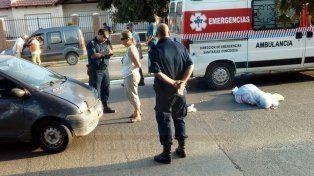 Accidente fatal en Concordia: Una mujer fue atropellada cuando cruzaba una avenida