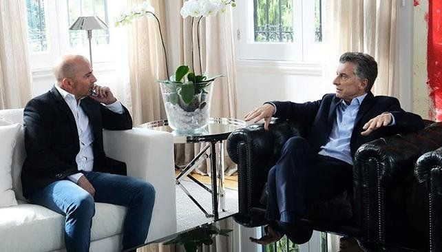 Almuerzo secreto entre Macri y Sampaoli