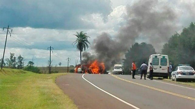 Diez personas murieron tras choque en Misiones: Hay dos menores y dos bebés