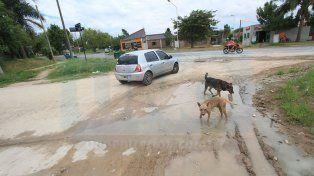 Deterioro. Piden que se haga mantenimiento de las calles.